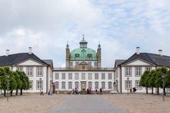Palazzo di Fredensborg in Danimarca fotografia stock