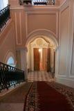 Palazzo di Gatcina delle scale Fotografie Stock