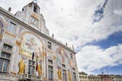Palazzo di Geoge del san a Genova Fotografia Stock Libera da Diritti