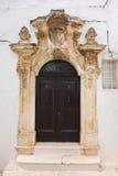 Palazzo di Ghionda Ostuni La Puglia L'Italia Fotografia Stock