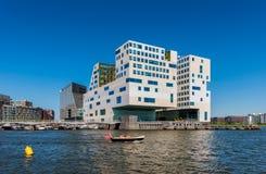 Palazzo di giustizia Amsterdam Immagini Stock