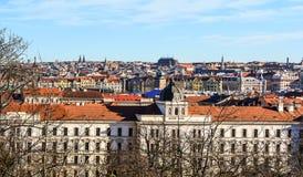 Palazzo di giustizia a Praga Immagini Stock Libere da Diritti