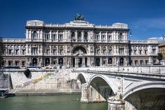 Palazzo di Giustizia, Rom, Italien Stockbilder