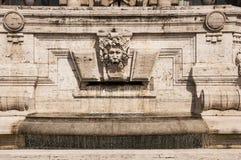 Palazzo di giustizia a Roma, Italia Fotografia Stock