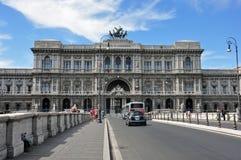 Palazzo Di Giustizia Rome Italië Stock Afbeeldingen