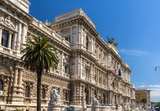 Palazzo di Giustizia in Rome, Italy Royalty Free Stock Images