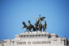 Palazzo di Giustizia in Rome Stock Images