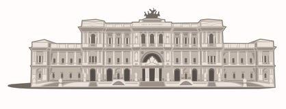 Palazzo di Giustizia Stock Images
