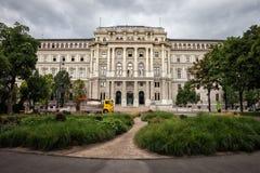 Palazzo di giustizia a Vienna Immagini Stock