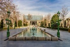 Palazzo di Golestan a Teheran, Iran Fotografie Stock