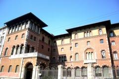 Palazzo di Gonzaga, Milano Fotografie Stock