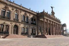 Palazzo di governo di Nuevo Leon immagini stock libere da diritti