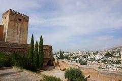 Palazzo di Granada Fotografia Stock Libera da Diritti