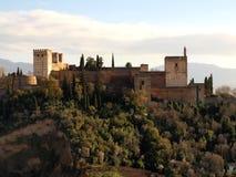 Palazzo di Granada Alhambra Immagine Stock Libera da Diritti
