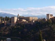Palazzo di Granada Alhambra Fotografie Stock