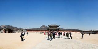 Palazzo di Gyeongbok Fotografia Stock