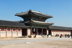 Palazzo di Gyeongbok Fotografie Stock Libere da Diritti