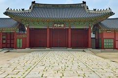 Palazzo di Gyeongbok, Seoul, Repubblica coreana fotografia stock libera da diritti