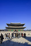 Palazzo di Gyeongbokgung Immagini Stock