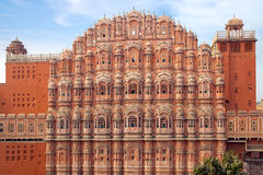 Palazzo di Hawa Mahal- dei venti. Jaipur, India. Immagini Stock