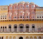 Palazzo di Hawa Mahal, Jaipur, Ragiastan, India immagini stock