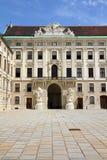 Palazzo di Hofburg Immagini Stock