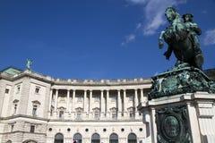 Palazzo di Hofburg, Vienna, Austria fotografia stock libera da diritti