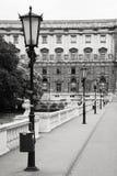 Palazzo di Hofburg in Wien Fotografia Stock Libera da Diritti