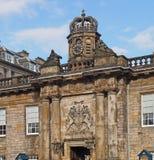 Palazzo di Holyrood Fotografie Stock