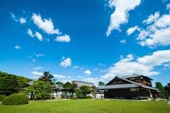 Palazzo di Honmaru, castello del  di NijÅ - Kyoto, Giappone Immagini Stock
