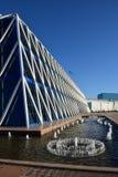 Palazzo di indipendenza a Astana fotografia stock libera da diritti