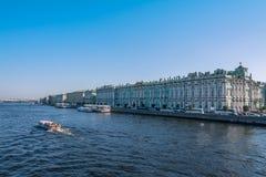 Palazzo di inverno, St Petersburg fotografia stock