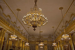 Palazzo di inverno, St Petersburg Fotografie Stock
