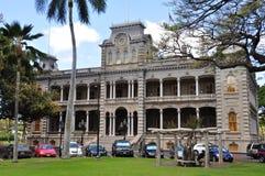 Palazzo di Iolani, Honolulu, Hawai Fotografia Stock Libera da Diritti