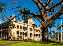 Palazzo di Iolani, Honolulu, Oahu, Hawai Immagini Stock Libere da Diritti