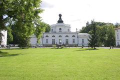 Palazzo di JabÅonna a Varsavia, Polonia Immagini Stock Libere da Diritti