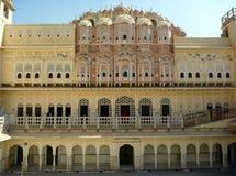 Palazzo di Jaipur Hawa Mahal, India Immagine Stock