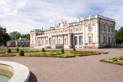 Palazzo di Kadriorg, Tallinn, Estonia Immagini Stock