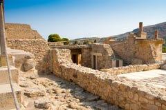 Palazzo di Knossos fotografia stock libera da diritti