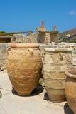 Palazzo di Knossos. Crete fotografie stock libere da diritti