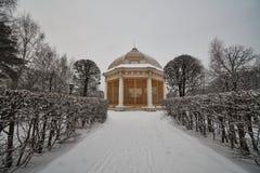 Palazzo di Kuskovo a Mosca fotografia stock libera da diritti