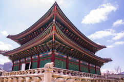 Palazzo di Kyeongbok Immagine Stock
