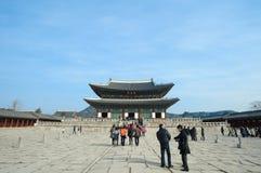 Palazzo di Kyongbok Fotografie Stock Libere da Diritti
