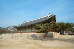 Palazzo di Kyongbok Fotografia Stock