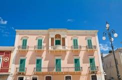 Palazzo di Latorre Fasano La Puglia L'Italia Immagine Stock Libera da Diritti