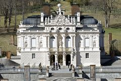 Palazzo di Linderhof Fotografia Stock