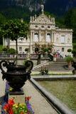 Palazzo di Linderhof Immagini Stock