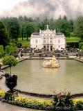 Palazzo di Linderhof in Baviera, Germania II Fotografia Stock Libera da Diritti