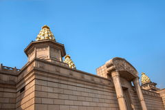 Palazzo di Lingshan Vaticano in montagna di Lingshan Immagini Stock Libere da Diritti