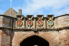 Palazzo di Linlithgow, stemma Fotografia Stock Libera da Diritti